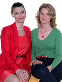Czutor Ágnes  kétgyermekes anyuka és Ollári Andrea a SILIMED ügyvezetője