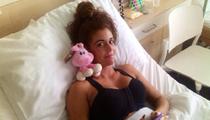 Miss Fitness Hungary boldogan a mellnagyobbító műtét után